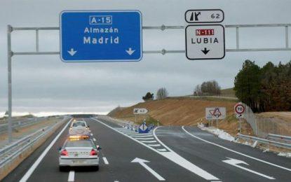 Al menos un muerto y siete heridos graves en un accidente de autobús en Adradas (Soria)