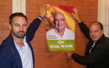 VOX presenta su campaña para las elecciones vascas bajo el eslogan «Por Álava, Por España»