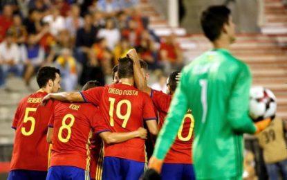 Julen Lopetegui debuta con victoria al frente de la selección española de fútbol