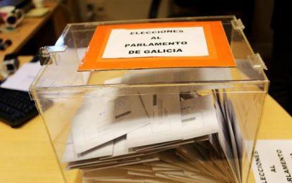 Más de 2,2 millones de españoles en Galicia están llamados a votar hoy en casi 4 mil mesas del 25s