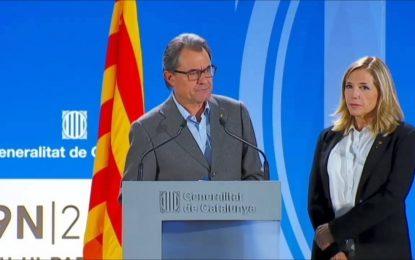 El Tribunal obliga a Artur Mas a pagar 5,2 millones € por los gastos referéndum ilegal del 9N