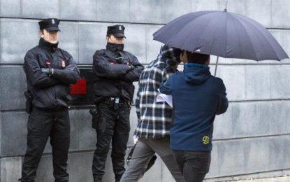 La Fiscalía considera terrorismo la agresión a 2 guardias civiles y sus mujeres en Alsasua (Navarra)