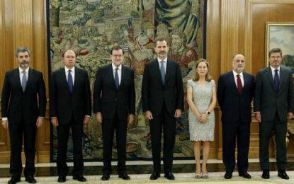 El Boletín Oficial del Estado publica hoy, 31/10/2016 nombramiento de Rajoy como presidente del Gobierno de España