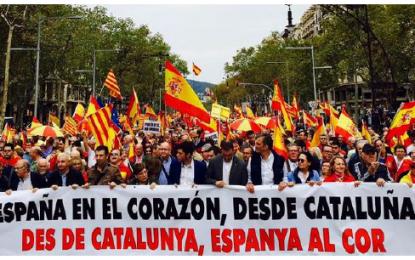 """(MCEC) valora el 12-O con """"100 mil Gracias"""" a cada uno de los 100 mil catalanes de Pl. Cataluña"""