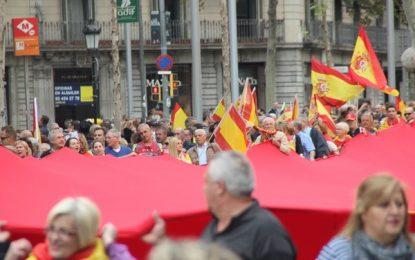 """Convocan una marcha en el centro de Barcelona el domingo 19M bajo: """"Paremos el Golpe Separatista"""""""