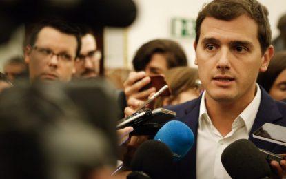 """Albert Rivera: Pide """"devolver a la clase media lo sufrido por la crisis, no es tiempo de más recortes"""""""