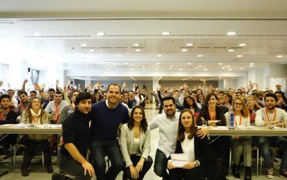 Ciudadanos reúne a sus jóvenes para hablar de su papel en el presente y en el futuro de la política