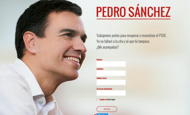 Sánchez, el líder de plataformas internas del PSOE que reclaman la convocatoria ya de primarias
