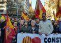 Día de la Constitución, el Secretario General de VOX exige en Barcelona el cumplimiento de la Ley