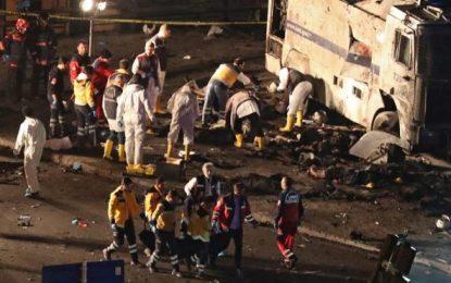Atentado contra autobús en el que viajaban soldados en Kayseri (Turquía), varios muertos