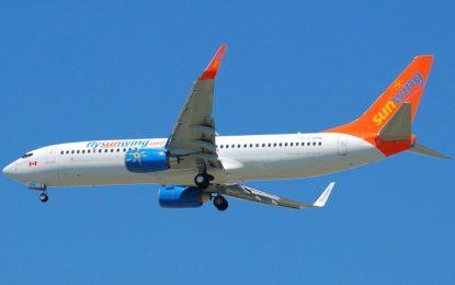 Detenido el borracho piloto de la compañía aérea canadiense Sunwing Airlines, con 100 personas a bordo