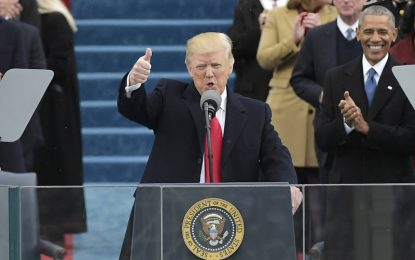 Discurso completo en español de la toma de posesión de Trump, 45º presidente de EE.UU