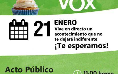 Roniel Aledo del partido de Trump participará en el acto del III Aniversario de VOX en Madrid