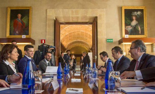 Los ministros del interior de espa a y portugal acuerdan for Ministros de espana