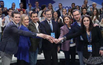 Solo el 3,35% de cargos del PP rechaza a Rajoy, la militancia no tiene derecho al voto