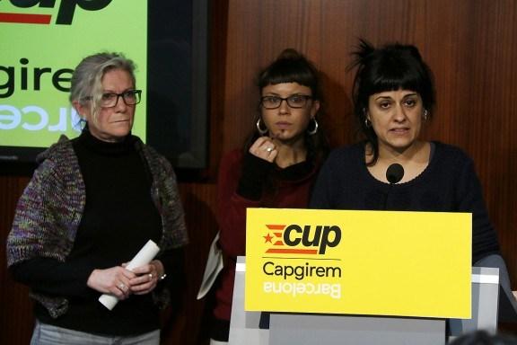 """CUP no se presentará a elecciones catalanas por """"la falsa izquierda"""" de Ada Colau y """"rancios"""" del PP"""