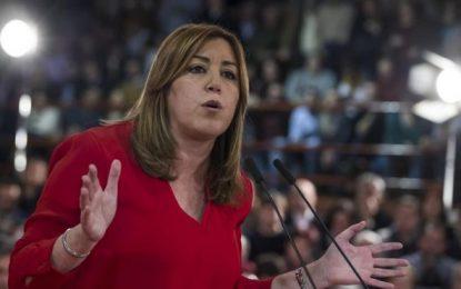 A Susana le falta aún coraje, no ha sido capaz de decir que quiere liderar el PSOE