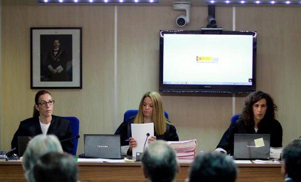 Caso Nóos: Las juezas Samantha Romero, Eleonor Moyà y Rocío Martín ya están notificando la sentencia