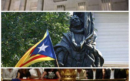 Alberto Fernández critica que Colau avala que la 'Estrellada' separatista presida actos oficiales