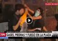 """Vídeo: Un joven pacífico golpeado por feministas, """"una jauría de cobardes"""""""