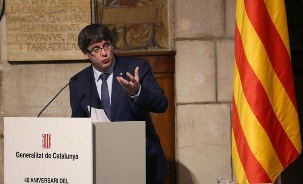 Puigdemont quiere hacer su campaña del referéndum ilegal en el corazón de España