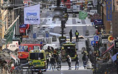 La Policía confirma cuatro muertos en el atentado de Estocolmo y un detenido