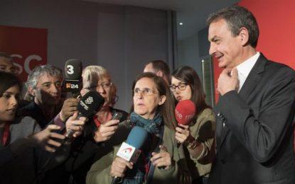 "Zapatero: ""Aquí en Cataluña hay voces contra Susana Díaz"" por ser 'charnega' ""andaluza"""