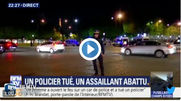 """(París) Al menos dos policías muertos, """"el terrorista"""" ha sido abatido y registran su casa"""