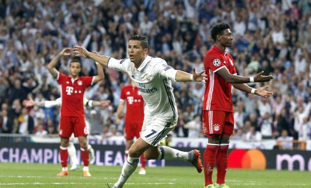 Un nuevo 'hat trick' de Cristiano Ronaldo impulsa al Madrid hacia las semifinales (4-2)