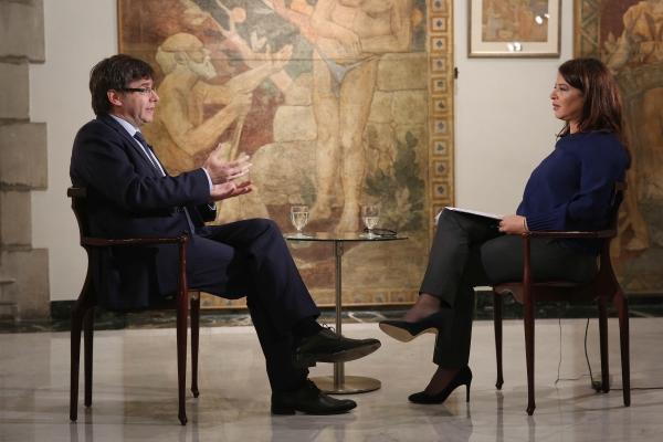 """Puigdemont: """"No quiero ir a la cárcel"""" pero, """"ya tenemos más de 6 mil urnas del referéndum"""""""