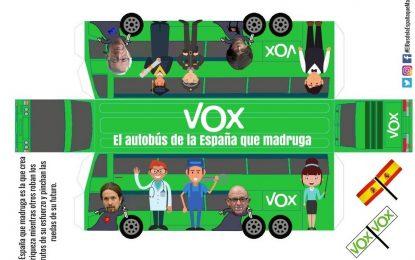 """VOX lanza la campaña, «El Bus De la España Que Madruga» para """"pagar el despilfarro autonómico"""""""