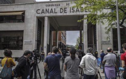 El juez cifra en al menos 23,3 millones de euros el desfalco al Canal de Isabel II