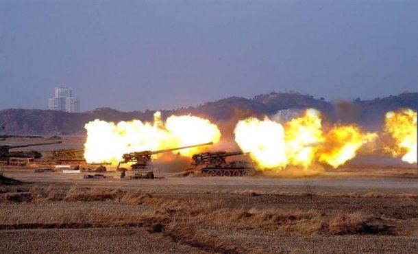 Corea del Norte incluyó aviones y submarinos en su gran ejercicio de ...