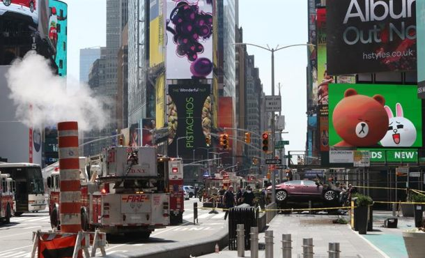 "Identificado el autor del atropello múltiple en Times Square, un presunto ""borracho"""