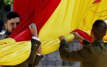 """""""Nuestra misión, tu libertad"""", lema del Día de las Fuerzas Armadas de España"""
