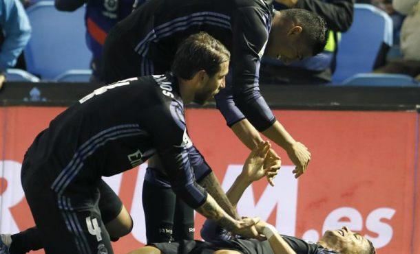 Cristiano encadena su segundo doblete consecutivo que acerca al Real Madrid al título