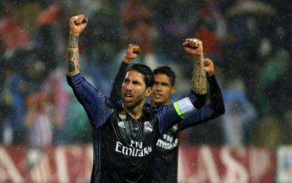 """Ramos: Orgulloso"""" del Madrid, """"con el gol conseguimos"""" atropellar a un Atlético desgatado"""