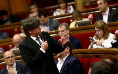 """Puigdemont: Agencia Tributaria separatista en Cataluña está lista, """"Hacienda Catalana completa"""""""