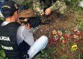 Incautan un depósito de armamento de disidentes de las FARC en el centro de Colombia