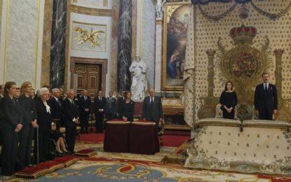 La infanta Cristina coincide en público con el Rey tras la sentencia de Nóos