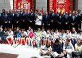 El Real Madrid ofreció la 33ª Liga a los madridistas al Ayuntamiento y Gobierno madrileño