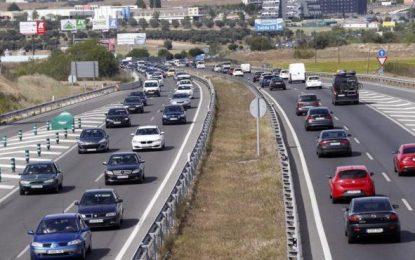 Quince muertos de tráfico en el puente, cinco más que en 2016 pero con un día más