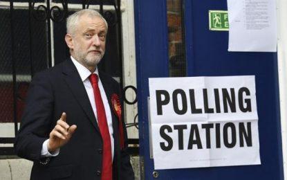"""(Elecciones Reino Unido): Jeremy Corbyn: """"Creo que eso es suficiente para que May se vaya"""""""