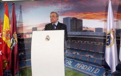 Florentino Pérez, proclamado como candidato único a la presidencia del Real Madrid