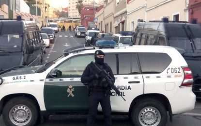 Detenido en Melilla un yihadista marroquí de una red de envío de combatientes a Siria