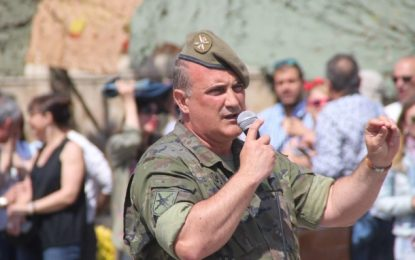 Cierra de Curso Escolar de Ejército con ejercicios militares «Minerva» en Lérida (Cataluña)