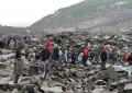 Un desprendimiento sepulta un pueblo en Sichuan y deja 120 desaparecidos