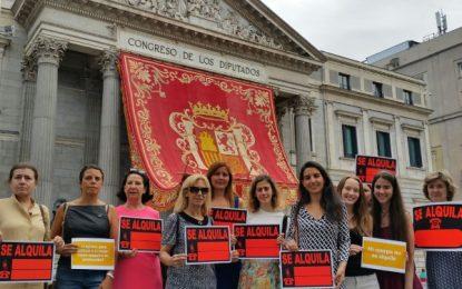 Rocio Monasterio (VOX) muestra su rechazo a la ley de «Vientres de Alquiler» de Ciudadanos Cs