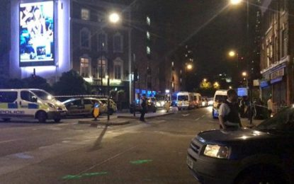 "Londres: Otros 2 ataques con cuchillos, total 3, ""incidentes"" en Vauxhall y mercado de Borough"