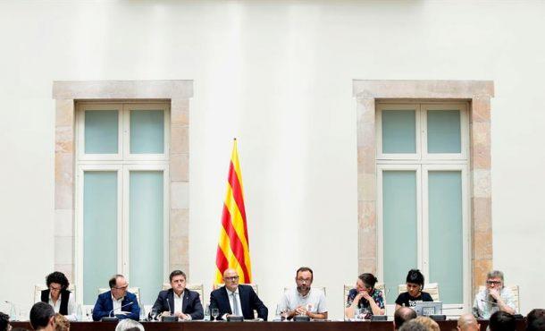 """La Ley de Referéndum prevé declarar la separación antes de 48 horas si ganase el """"Sí"""""""